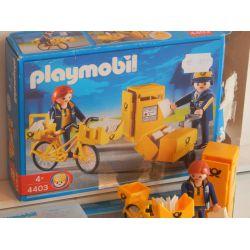 Z1 - Les Postiers Et Boite Aux Lettres - Boite Et Notice - De 2004 4403 Playmobil