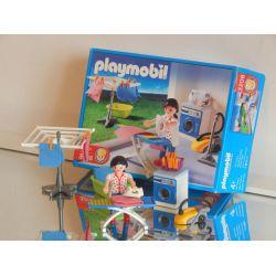 Z1 - La Ménagère Et Buanderie - Boite - De 2003 3206 Playmobil