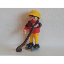 Z1 - Enfant Fait Du Hockey Sur Glace Playmobil