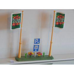 Panneau De La Jardinerie 4480 Playmobil