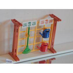 Présentoir Et Accéssoires De La Jardinerie 4480 Playmobil