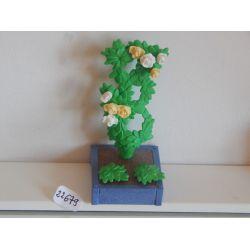 Arbuste Dans Jardinière De La Jardinerie 4480 Playmobil