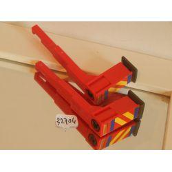 Pieds X2 Du Véhicule Des Pompiers 4820 Playmobil