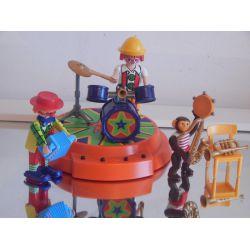 L'Orchestre Du Cirque Avec Base Musicale A Pile Plusieurs Mélodie Le Monde Du Cirque 4231 Playmobil