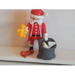 Le Père Noel Et Hotte Très Garnie Playmobil