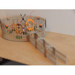 La Cage Aux Fauves Et Dompteur Nombreux Accéssoires Playmobil
