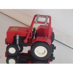 Ultra Rare tracteur RONCALLI Série Limitée Manque Haut De Cheminée Mais Reste Une Belle Pièce 9041 Playmobil