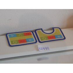 Tapis X2 De Salle De Bain Playmobil