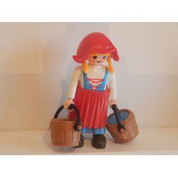 La Paysanne Médiévale Playmobil