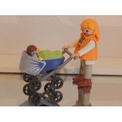 Maman Et Landau Playmobil