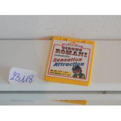 Panneau Publicitaire Du Clown 3797 Playmobil