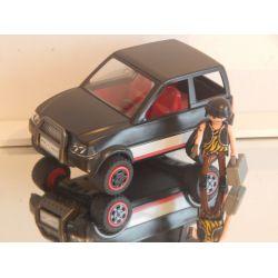 Cambrioleur Et Jeep Playmobil
