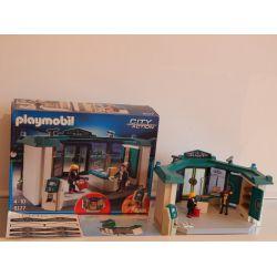 Belle Banque Equpée Avec Distributeur De Billets Boite Et Notice Complet 5177 Playmobil