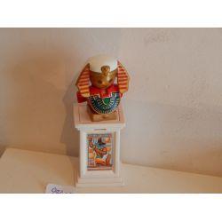 Superbe Effigie De Dieu Egyptien Sur Colonne Playmobil