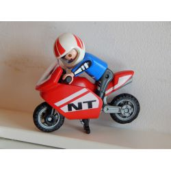 Enfant Et Moto Playmobil