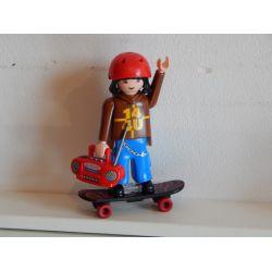Jeune Homme Et Skate Board Playmobil