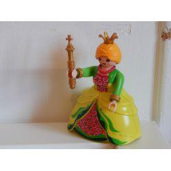 Superbe Reine Du Château Playmobil
