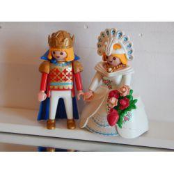 Superbe Couple Royal Playmobil