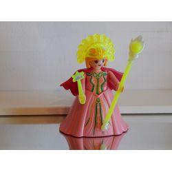 Superbe Reine Et Longue Cape 5459 Série 6 Playmobil