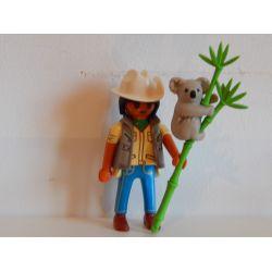 Soigneur Du Zoo Et Koala 5459 Série 6 Playmobil