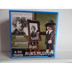 RARE REMBRANDT Autoportrait NEUF Scellé PLAYMOBIL 70456 Playmobil