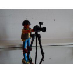 Photographe Et Appareil Photo Sur Trépied Playmobil