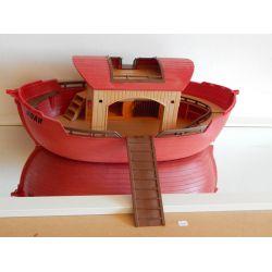 Arche De Noé Et Sa Passerelle Vide A Garnir - Manque Un Verrou Voir Photo - Playmobil