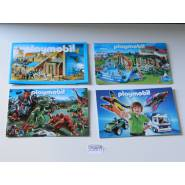 4 Mini Catalogues Playmobil
