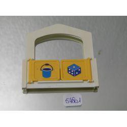 Mur De Maisonette Enfant Playmobil